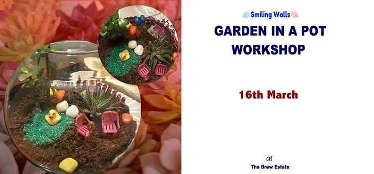 Garden in a Pot Workshop at Brew Estate Chandigarh