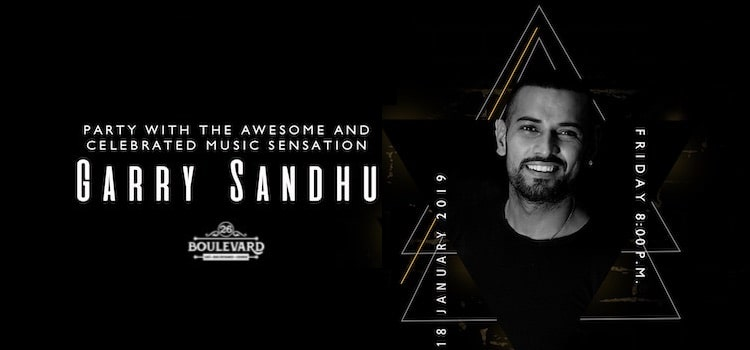 Dare Not Miss The Heart-Throb Garry Sandhu Live At Our Favorite 26 Boulevard