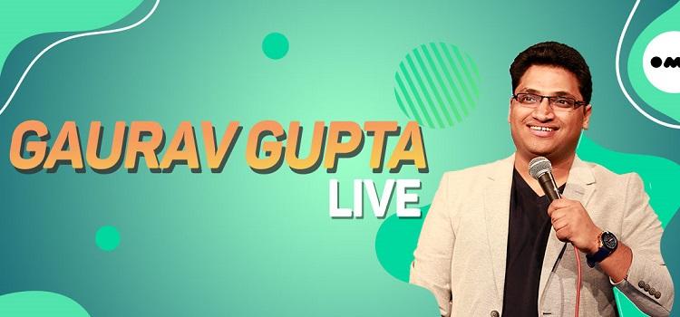 Gaurav Gupta Live Comedy by Online Events