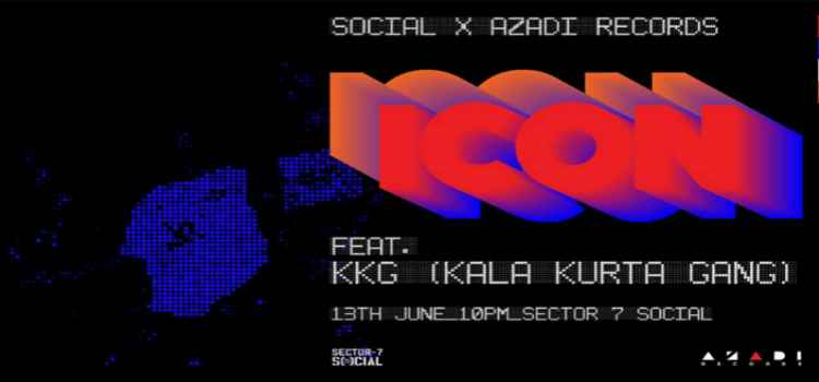 Gear Up For ICON Feat. KKG Live At Social-7, Chandigarh!