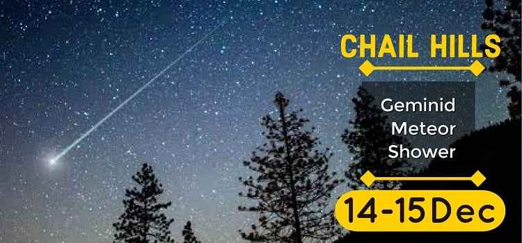 Geminid Meteor Shower & Mountain Camping At Chail Hills