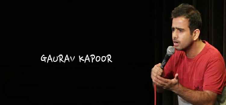 Get Ready For A Great Comedy Night With Gaurav kapoor At Balck Lotus, Chandigarh!