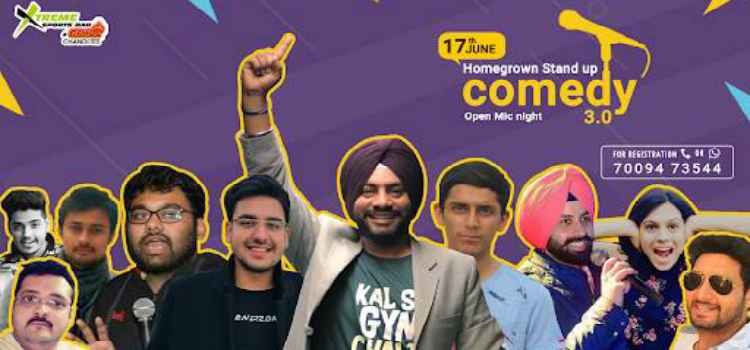 Laugh Your Heart Out With Homegrown Comedy At Xtreme Sports Bar And Grill, Chandigarh.