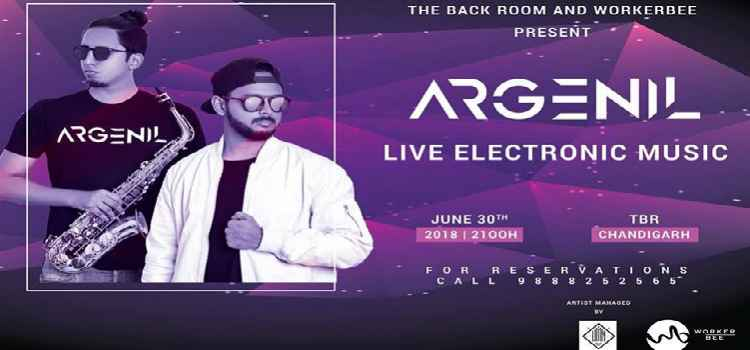 Get Ready For Some Hindustani House Music With Argenil Live At The Back Room, Chandigarh!