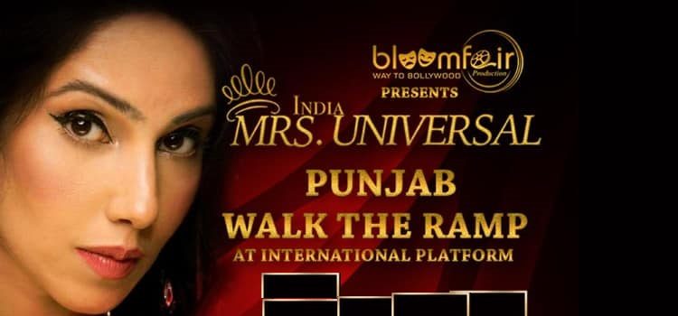 Get Ready For Mrs India Universal Punjab 2019