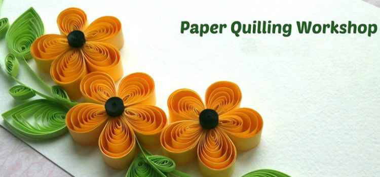 Get Your Slots Booked For Ultimate Paper Quilling Workshop!
