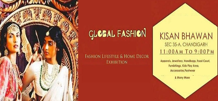 Global Fashion Exhibition At Kisan Bhawan