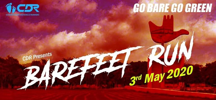 Marathon Event - Barefeet Run In Chandigarh by Chandigarh city
