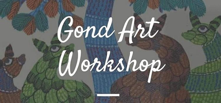 Gond Art Workshop At Lake Club Chandigarh