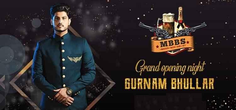 Grand Opening Night Of Mauser Beer Bar Set With Gurnam Bhullar