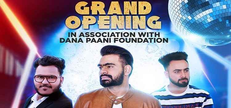 Grand Opening Of Malakia Entertainment Ft. Prabh Gill In Chandigarh