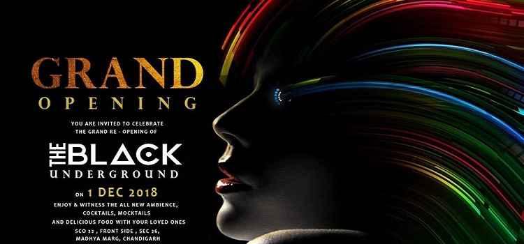 Grand Re-Opening Of The Black Underground Nightclub