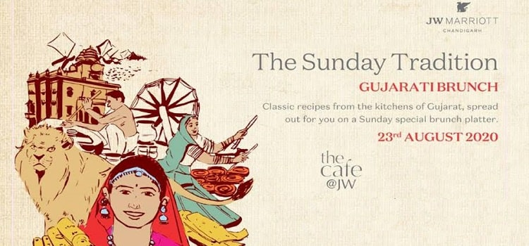 Gujarati Brunch Buffet At JW Marriott
