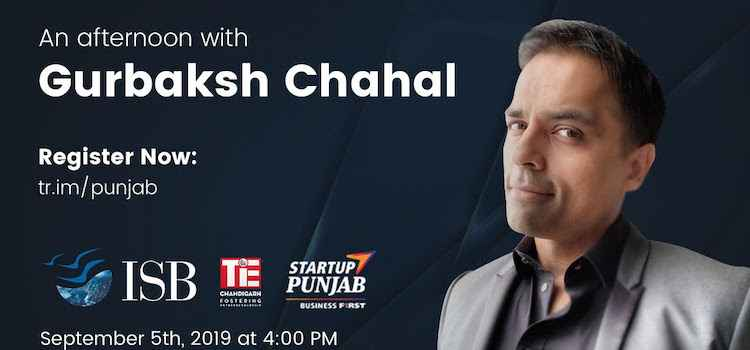 An Afternoon With Gurbaksh Chahal At ISB Mohali