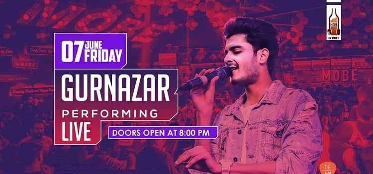 Gurnazar Performing Live At MOBE Elante