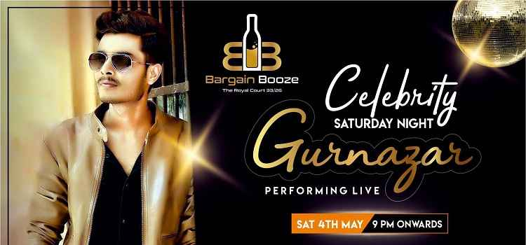 Gurnazar Performing Live At Bargain Booze