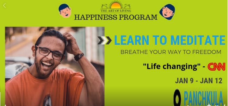 Happiness Program at Ansal Sampark Panchkula