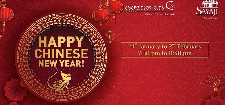 Happy Chinese New Year At Hotel Sayaji Indore