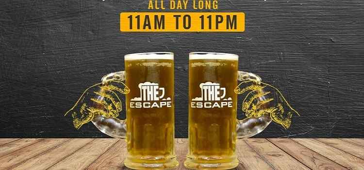 Enjoy Happy Hours At The EscapeThis Valentine's