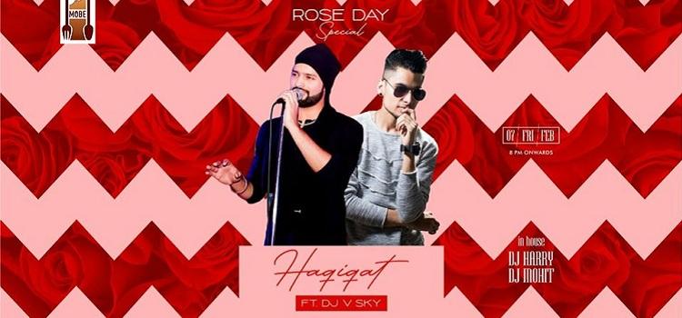 Haqiqat & DJ V Sky Performing Live At MOBE