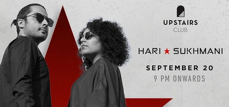 Upstairs Club Launches Live Wednesdays With Hari-Sukhmani!
