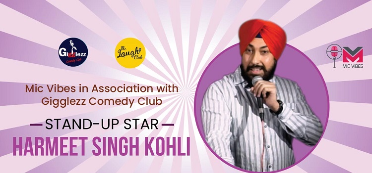 Harmeet Singh Kohli Live At Laugh Club Chandigarh