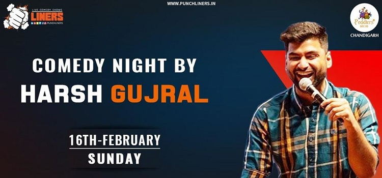 Comedian Harsh Gujral At Peddlers In Chandigarh