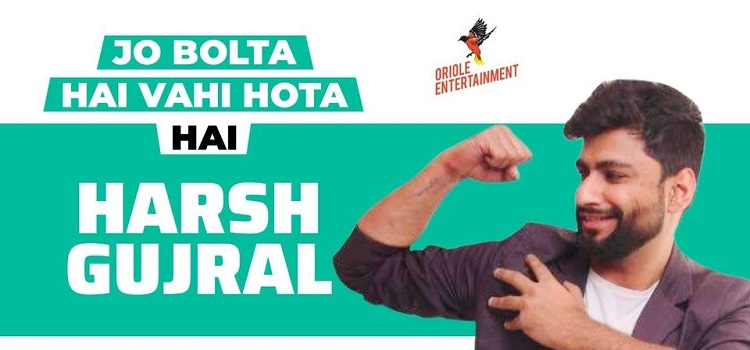 Harsh Gujral Comedy At Laugh Club Chandigarh