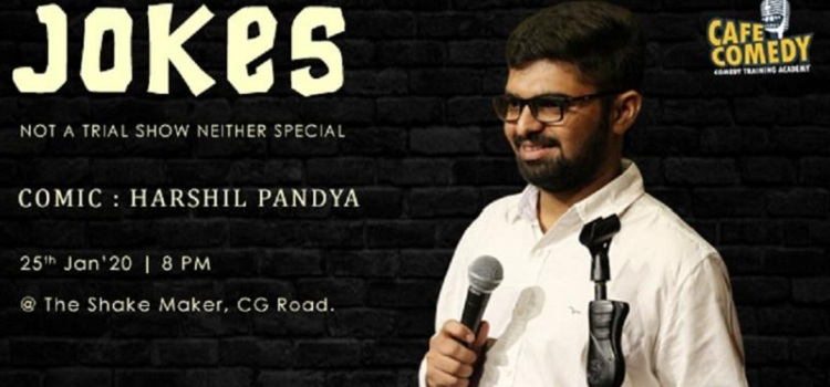 Harshil Pandya at The Shake Maker Ahmedabad