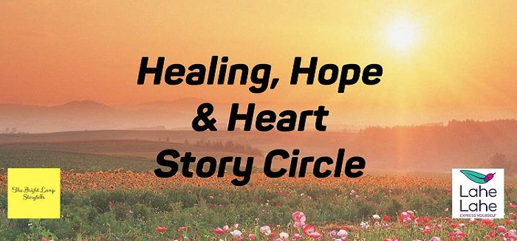 Healing, Hope & Heart Online Story Circle By Ramya by Online Events