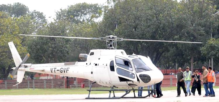 Enjoy Helicopter Ride At Rose Festival Chandigarh