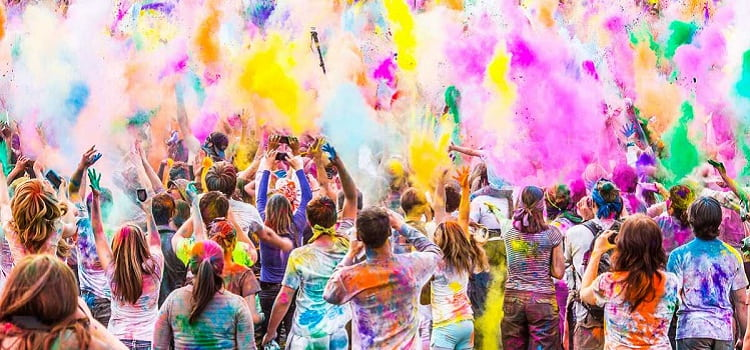 Holi Bash At Luthra Farms In Chandigarh