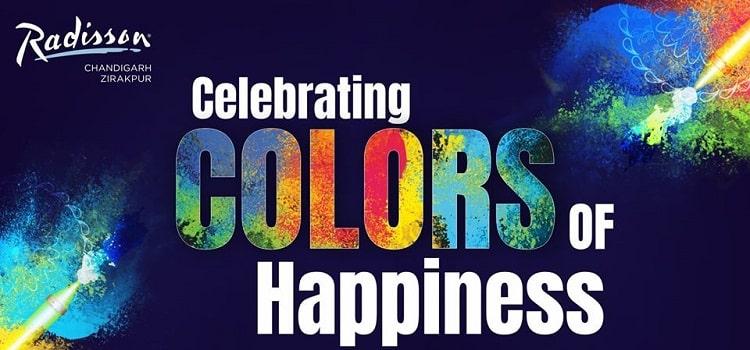 Holi Celebrations At Radisson Zirakpur