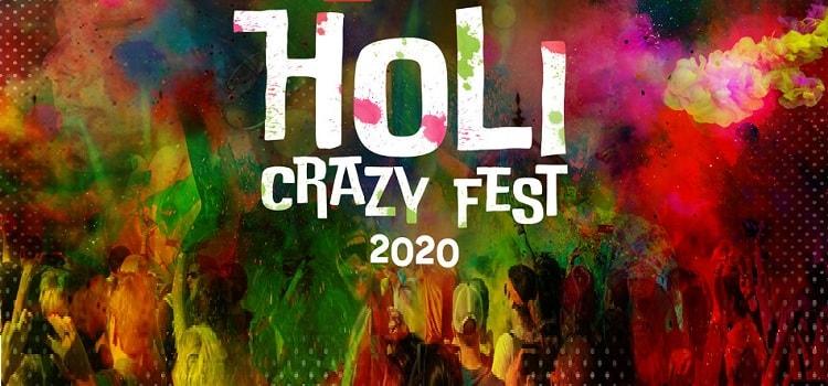 Holi Crazy Fest 2020 At The village Chandigarh