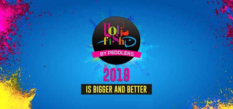 Let's Get Insane Together As Its Holi Fish By Peddlers At Pit Brew