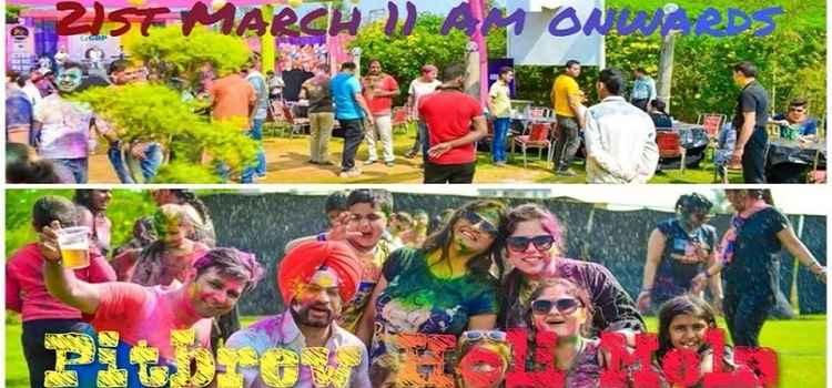 Holi Mela 2019 At Pitbrew Chandigarh