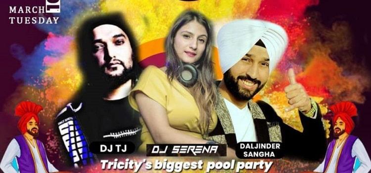 Tricity's Biggest Holi Pool Party At Amravati Club