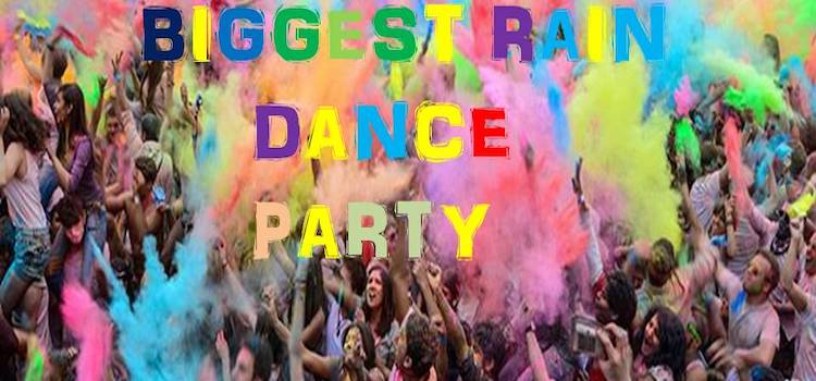 Biggest Holi Rain Dance Party At Arista Hotel