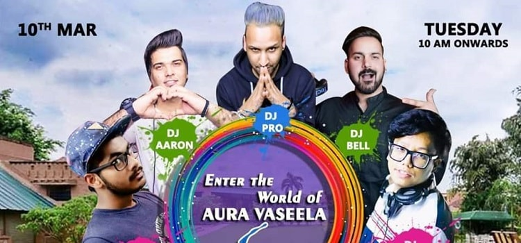 Grand Holi Splash 2020 At Aura Vaseela