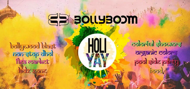 Bollyboom Holi Bash 2020 At Chimney Heights