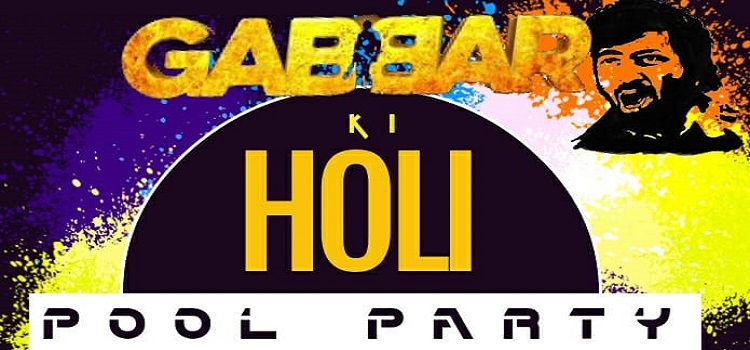 Gabbar Ki Holi At Golden Tulip Panchkula