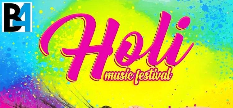 Grand Holi Festival 2020 At Hotel North Park