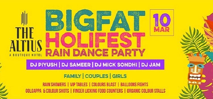 Big Fat Holi Fest 2020 At King's Cross Chandigarh