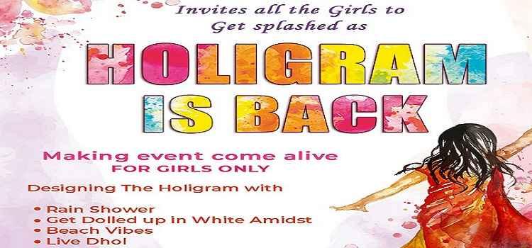 Holigram At Jungle Bar Chandigarh
