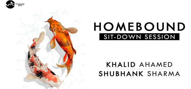 Homebound Sit-Down Session: Khalid Ahamed and Shubhank Sharma In Chandigarh