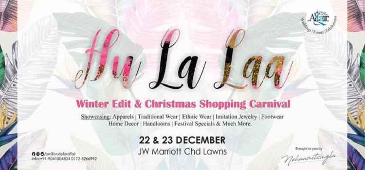 Hu La Laa- Winter Edit & Christmas Shopping Carnival