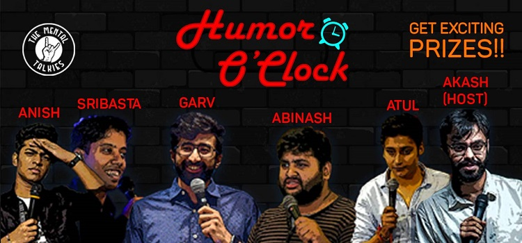 Humor O`Clock Online Comedy by Online Events