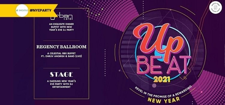 Upbeat 2021 - New Year's Eve Celebration At Hyatt