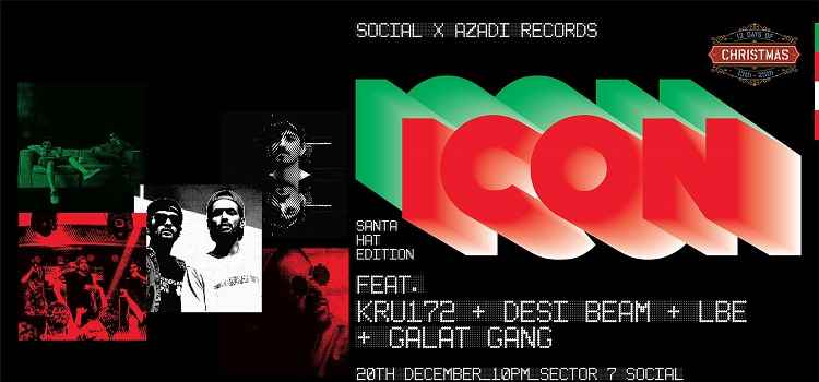 ICON Vol.7- Santa Hat Edition At Sector 7 Social