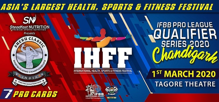 IFBB Pro league Qualifier Series At Tagore Theatre